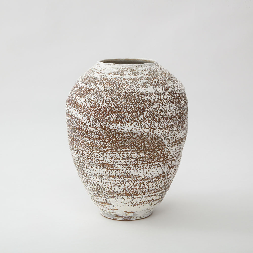 PS PROJECTS | CERAMIC VASE NO. 02 Artisan FOUND | MARKED