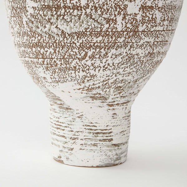 PS PROJECTS | CERAMIC VASE NO. 03 Artisan FOUND | MARKED