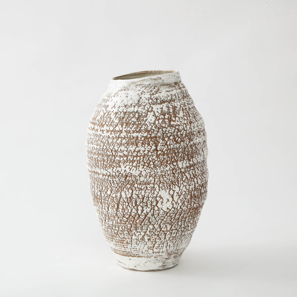PS PROJECTS | CERAMIC VASE NO. 04 Artisan FOUND | MARKED