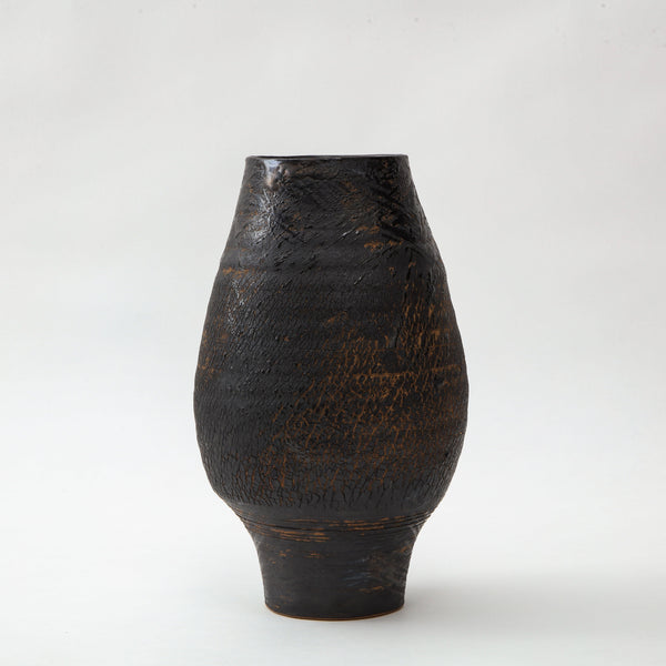 PS PROJECTS | CERAMIC VASE NO. 05 Artisan FOUND | MARKED