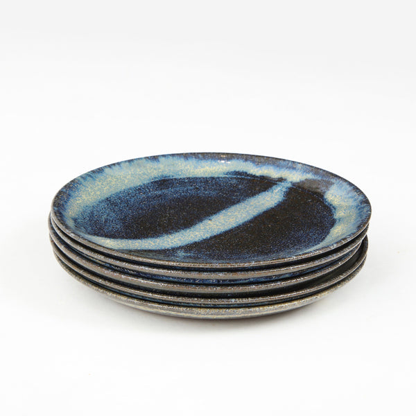 STUDIO POTTERY | BREAD PLATES Artisan FOUND | MARKED