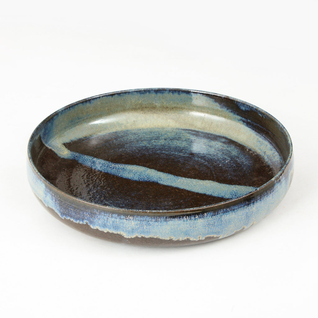 STUDIO POTTERY | CHARGER Artisan FOUND | MARKED
