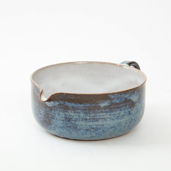 STUDIO POTTERY | SAUCE BOWL Artisan FOUND | MARKED
