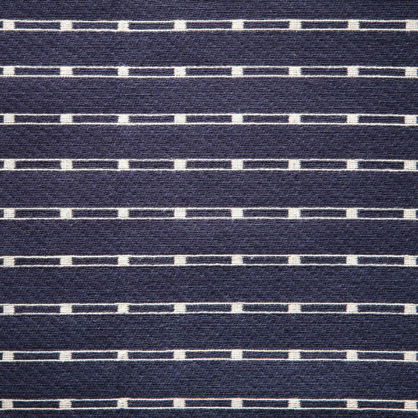 Track Jacquard Fabric Indigo 06 | MARKED