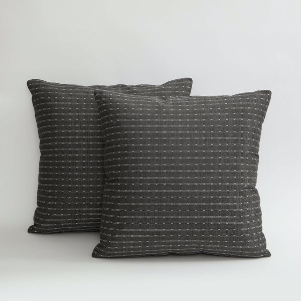 TRACK | PEWTER | PILLOW Fabric MARKED | MARKED