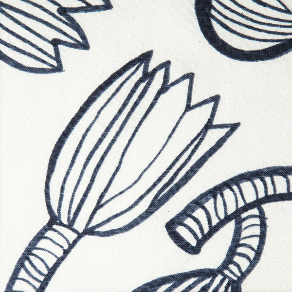 Tulip Fabric Indigo 06 | MARKED