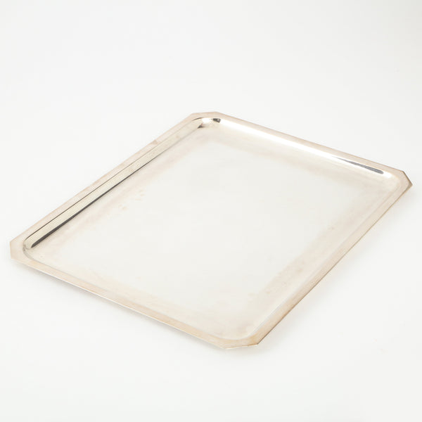 WISKEMANN SILVER PLATED TRAY Vintage FOUND | MARKED