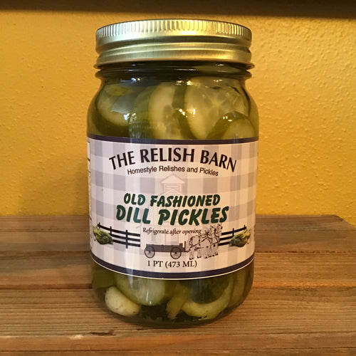 Old Fashioned Dill Pickles