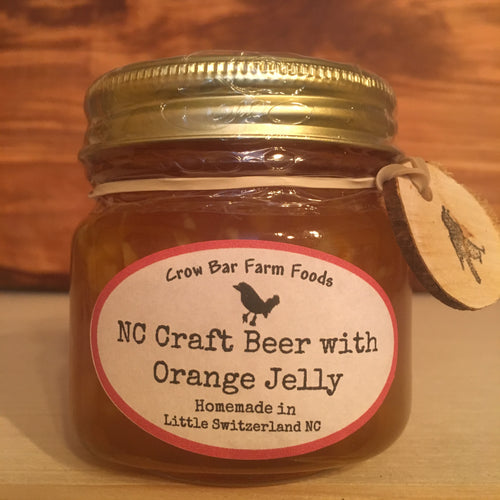 NC Craft Beer with Orange Jelly