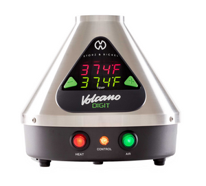 Digit Volcano Vaporizer - Little Silver Leaf