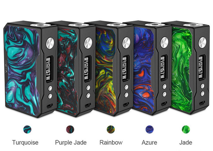 VooPoo Drag 157W TC Box Mod (Black Frame Resin)