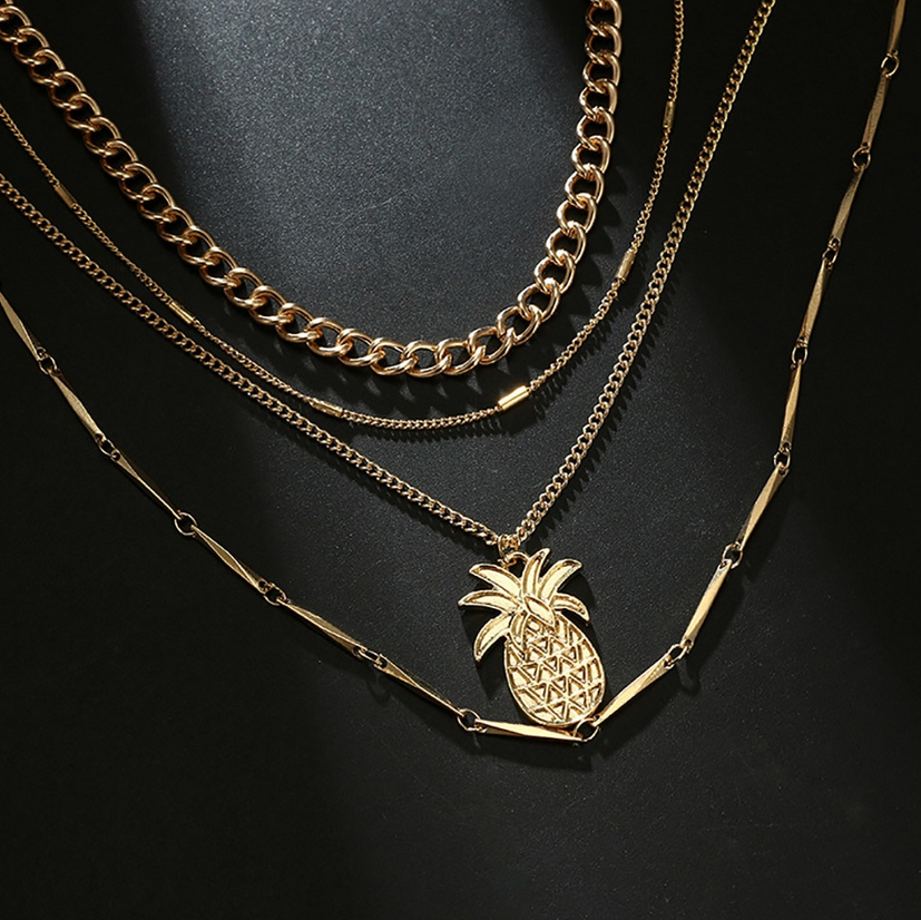 Collier Pineapple