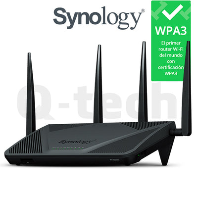 Synology Router RT2600AC WPA3 - Q-Tech ®