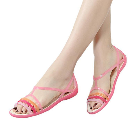 Women Sandals Summer New EVA Casual Mixed Candy Colors - Uniquely Fashion