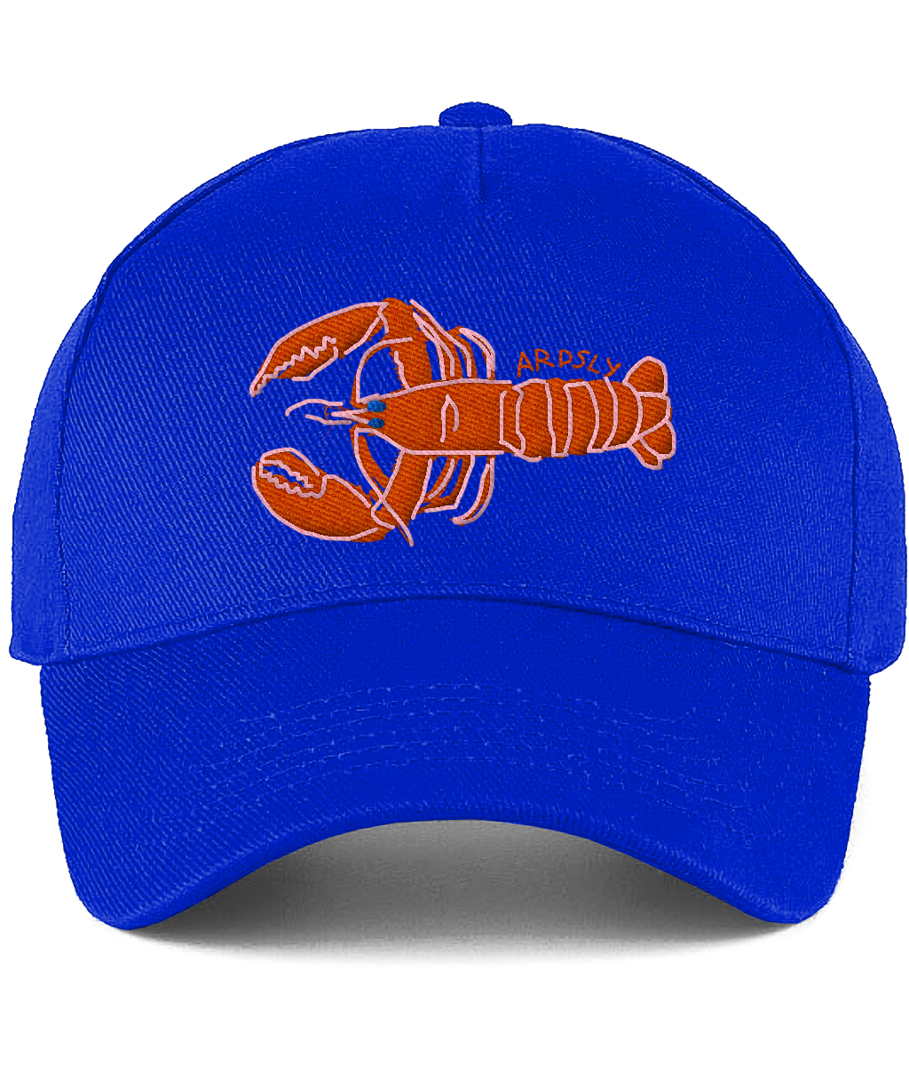 Lobster Deep Blue Cap / Embroidered-to-Order