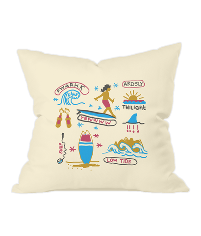 Beach Life Cushion Cover / Made-to-Order