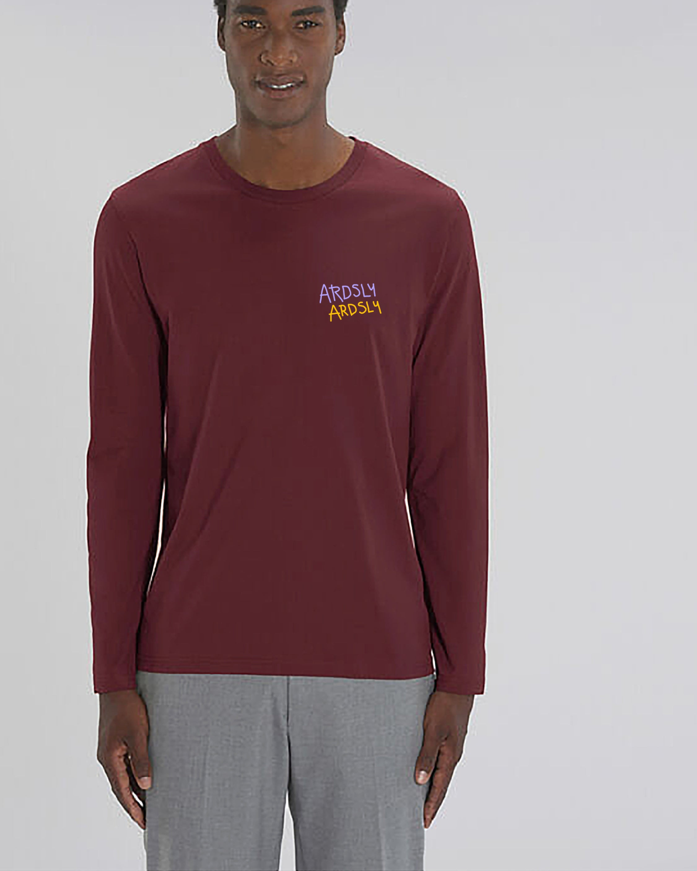 Ardsly Maroon Long Tee | Organic Staple