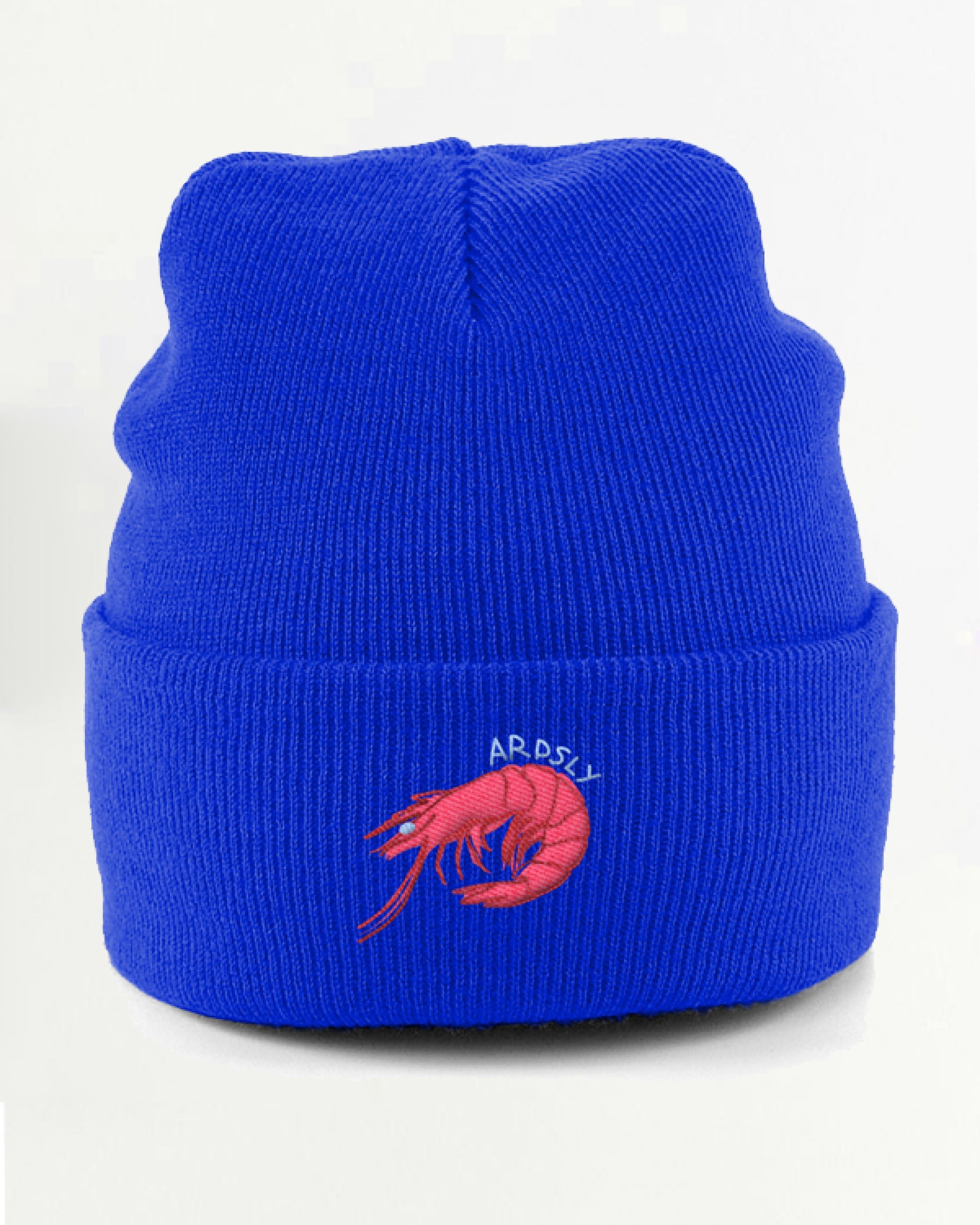 Shrimp Shop Beanie / Embroidered-to-Order