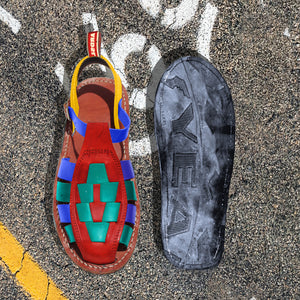 Holbox Nineties / Recycled Tyre Soles