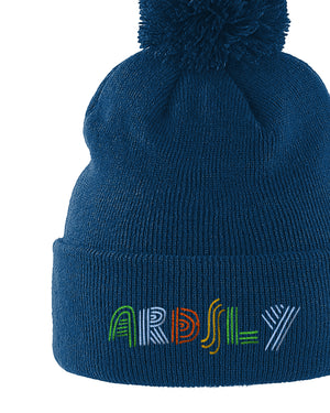 Ardsly SkiPom Petrol - Embroidered-to-order