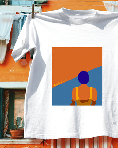 Sunset Swimmer Tee // Organic