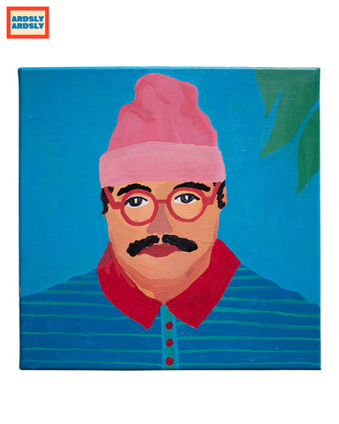 BEANIE BOY by Emma Greenwood / Art print / Pt.4 'HAT SERIES'