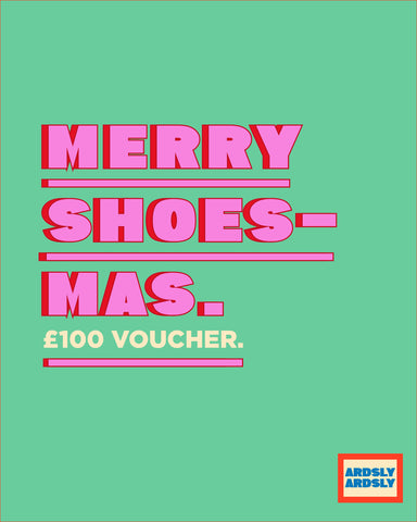 £100 | Merry Shoes-mas!