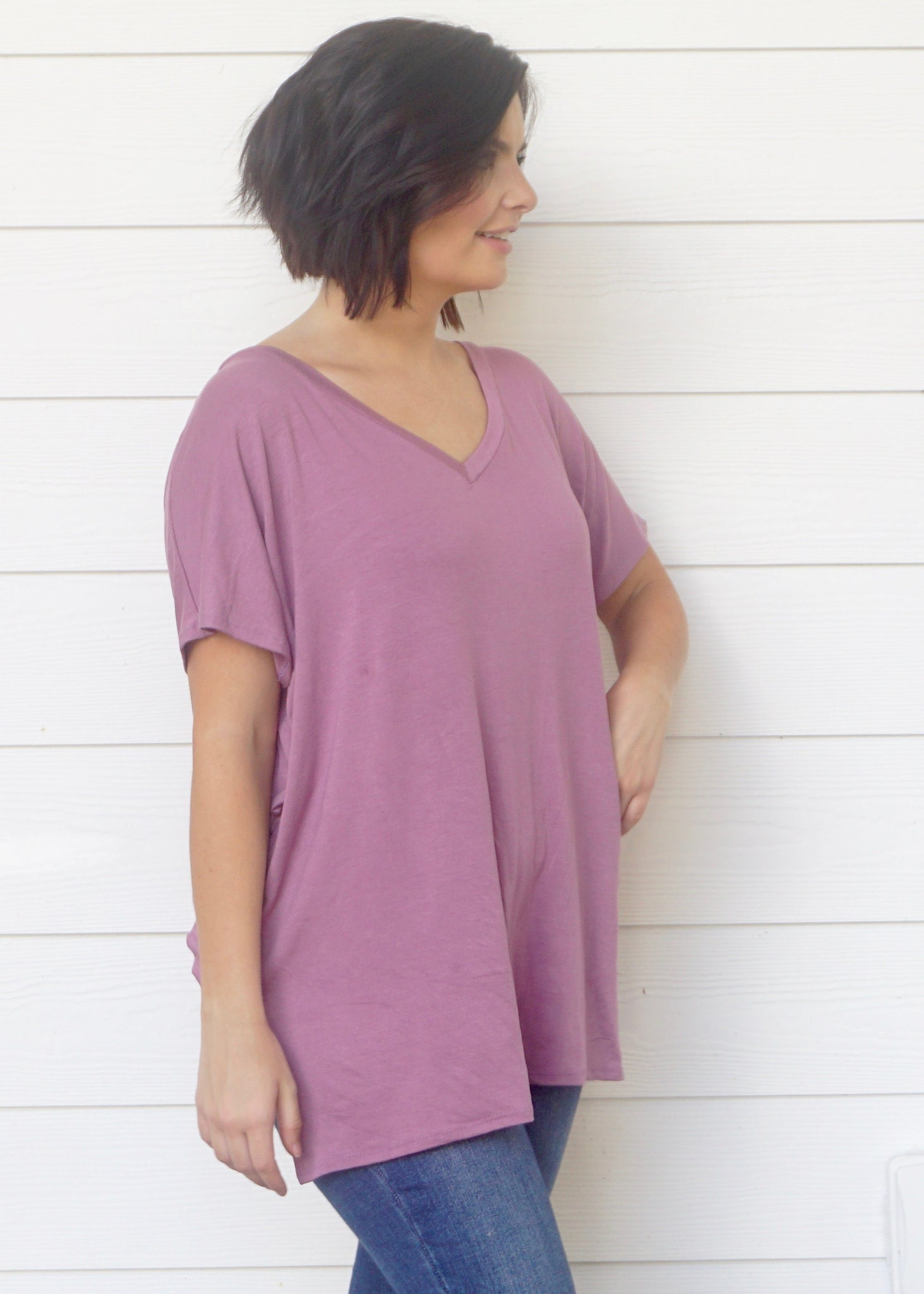 Lovely Lavender Top - Rae Rae's Boutique