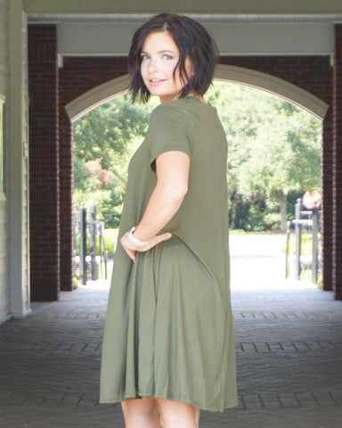 Green for Fall - Rae Rae's Boutique