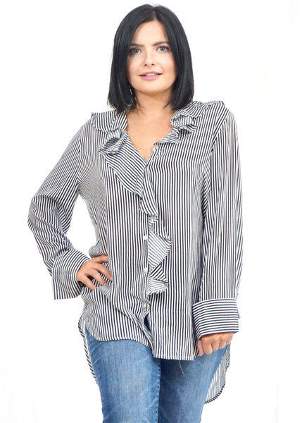 Lulu Stripe Top - Rae Rae's Boutique