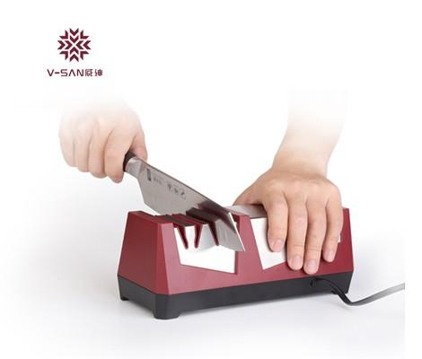 Deluxe Kitchen Electric Knife Sharpener (TV1704)