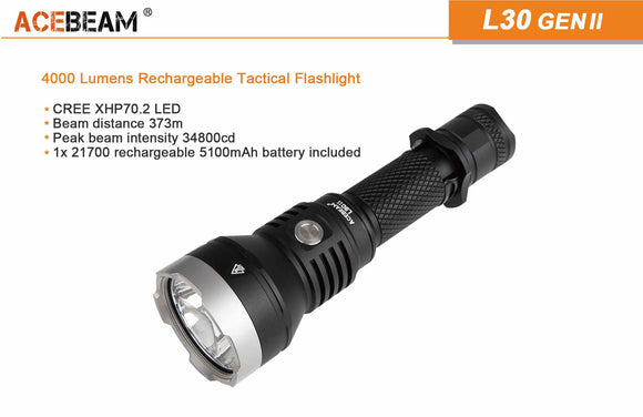 Acebeam L30 II hunting kit 5000k