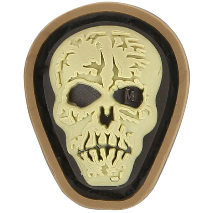 "Hi Relief Skull Micropatch 0.7"" x 0.88"" (Arid)"