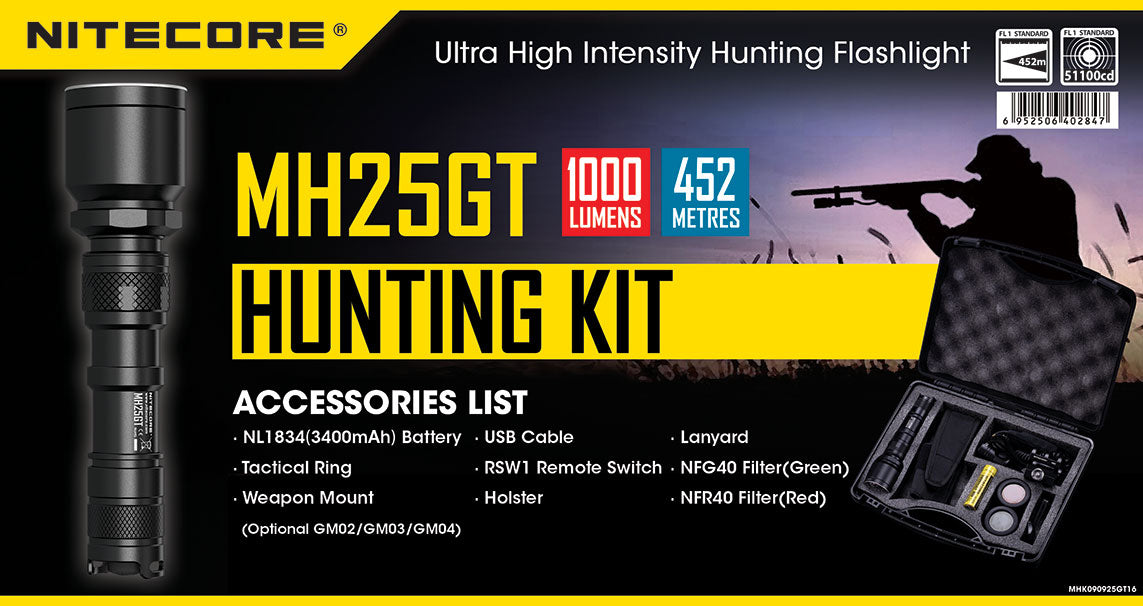 MH25GT Hunting Kit