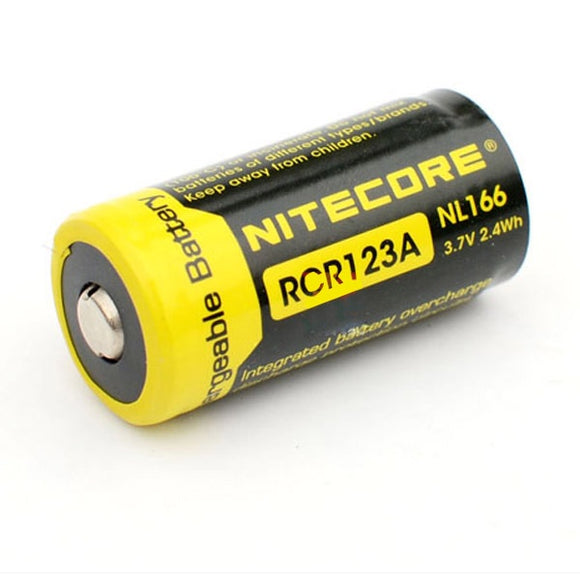 Nitecore RCR123A battery