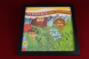 Framed 33RPM album covers