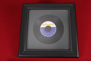 Framed 45RPM records