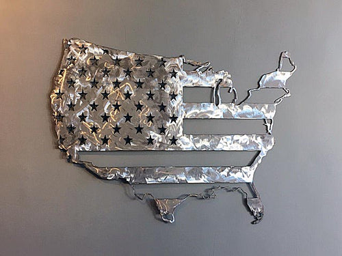 US Flag of Steel