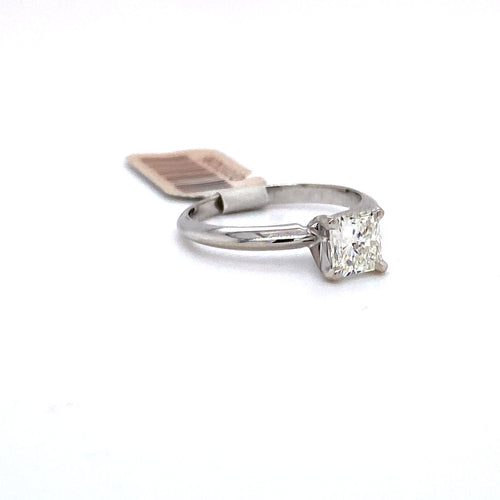 10Kt White Gold 0.75CTW Solitaire Diamond Bridal Wedding Engagement Ring