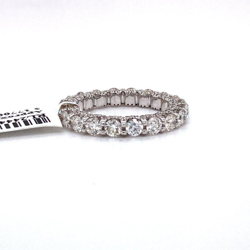 14Kt White Gold 2.75CTW Diamond Eternity Band