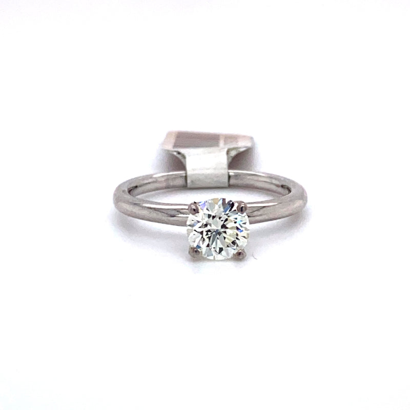 14Kt White Gold 0.96CTW Solitaire Diamond Bridal Wedding Engagement Ring