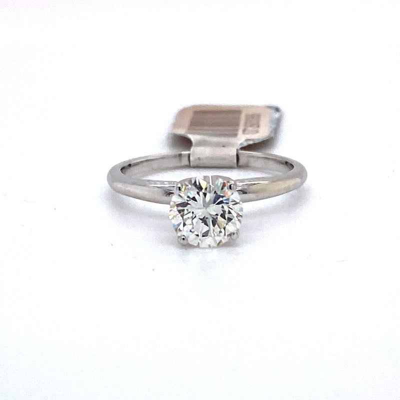 14Kt White Gold 1.00CTW Solitaire Diamond Bridal Wedding Engagement Ring