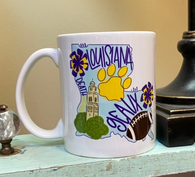 Louisiana Mug 11oz