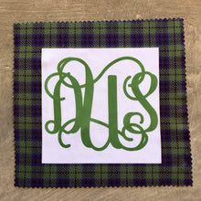 Eye Glass Cloth - Blue and Green Plaid