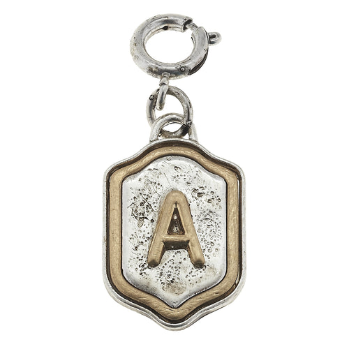 Jane Marie Initial Charm- A