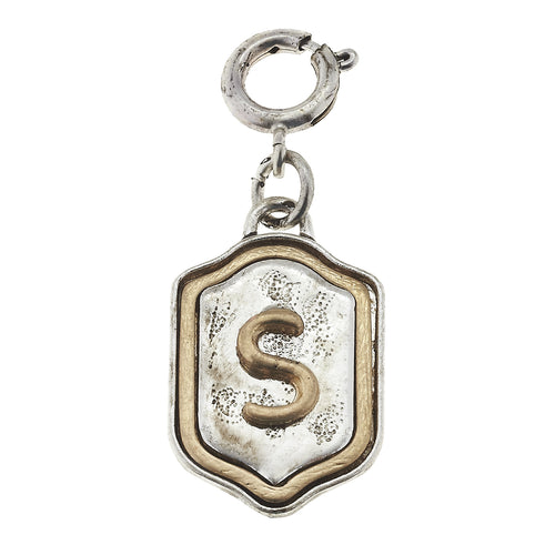 Jane Marie Initial Charm- S