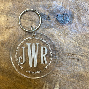 Keyring - Inspirational + Personalized