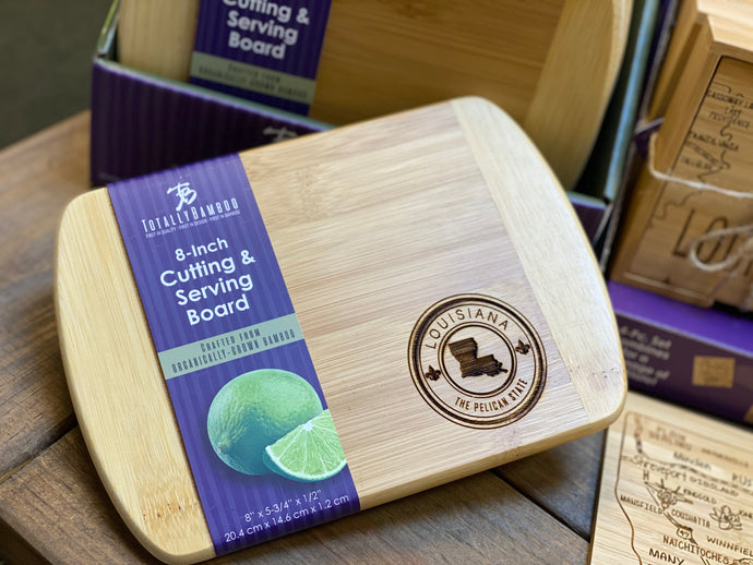 Louisiana Bamboo Cutting and Serving Board