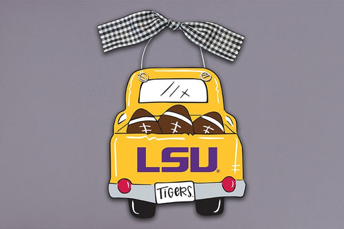 LSU Truck Ornament