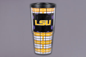 LSU Tumbler with Lid